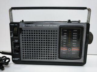 Radio transistor Sanyo antiguo