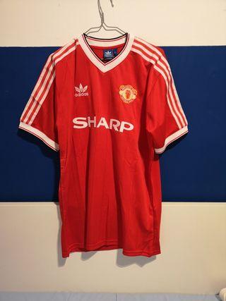 Camiseta Manchester United vintage
