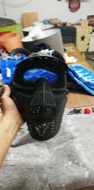 máscara airsoft