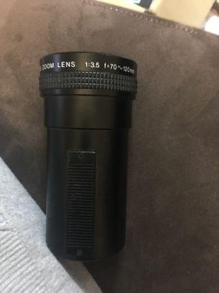 ELMO Zoom Lens 1:3.5 f=70~120mm