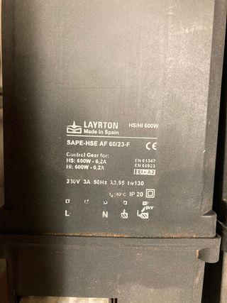Dayrton 220v hasta 600v