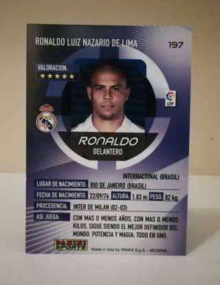 RONALDO #197 MEGACRACKS 2006/07