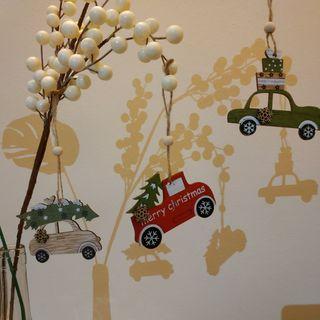 Adornos Navidad coches