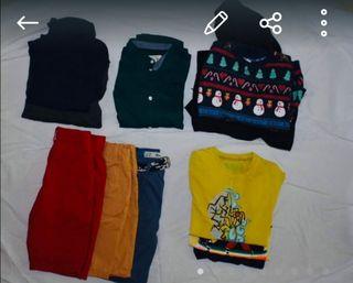 lote ropa niño t-6-8
