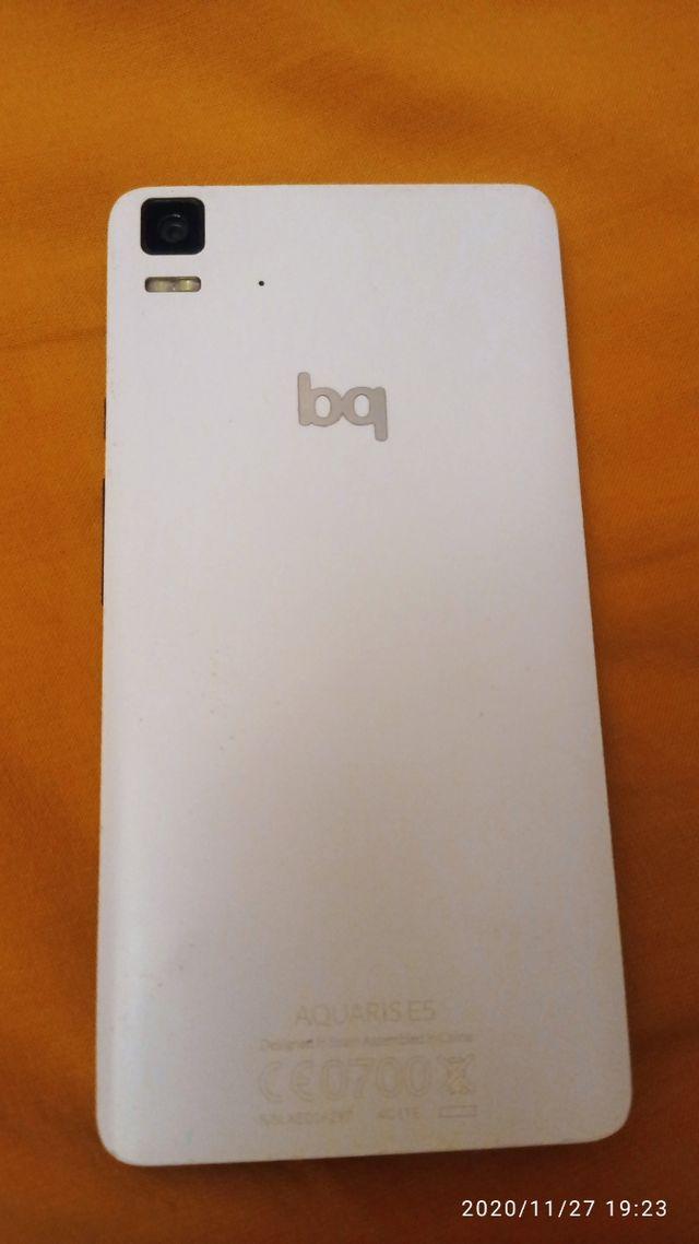 teléfono móvil bq Aquaris e5