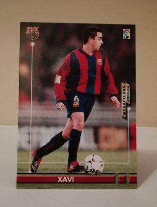 XAVI #65 F. C. BARCELONA MEGAFICHAS 2003/04