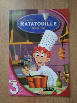 Libro película Ratatouille