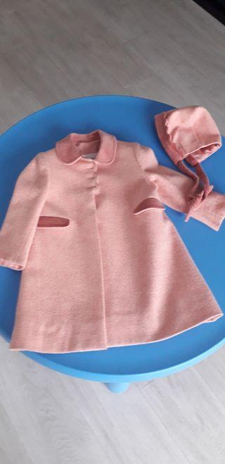 abrigo niña 2 años