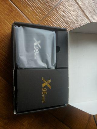 2 tvbox x96 mini, 2 gbs ram y 16 rom (hago envíos)