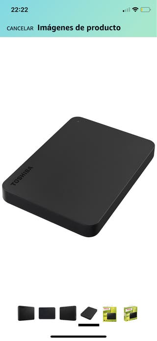 Disco duro externo 1 TB TOSHIBA Canvio Basics