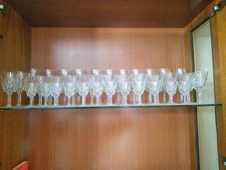 CRISTALERIA (copas de campagne, vino, agua y licor