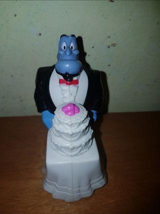 figura Aladdin genio tarta boda Disney McDonald's