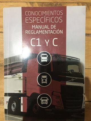 Libro carnet C camión