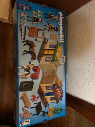 Casa maletín oeste Playmobil