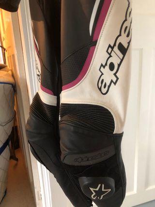 Ladies Size 8 Alpinestars leathers