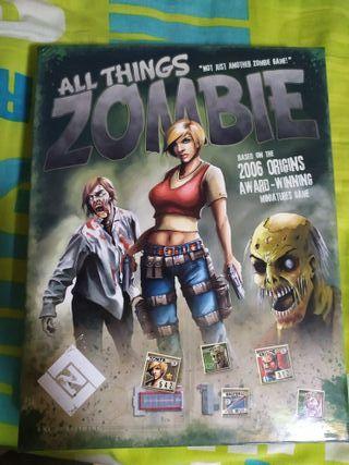 All things zombie - Juego de Mesa