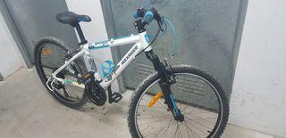 "bicicleta junior 24"" Rockrider rr5.2"