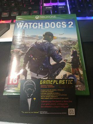 Watch Dogs 2 Xbox One (Precintado)