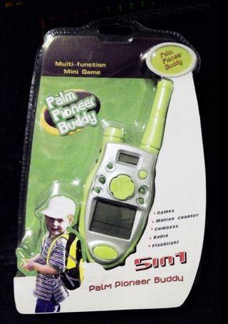 Juguete multifunción 5 en 1 forma walkie talkie