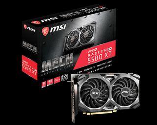 MSI Radeon RX 5500 XT 8GB DDR6