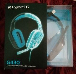 Auriculares Logitech G430