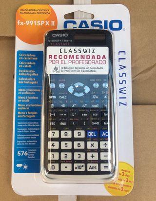 Calculadora Casio científica fx 991spX II