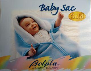 Saco manta bebe