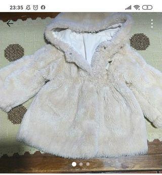 abrigo niña de pelo corto