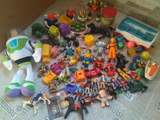 gran lote juguetes Playmobil toy story