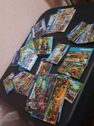 lote libritos playmobil más de 40 diferentes epoca
