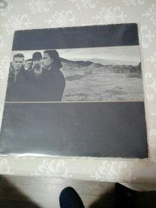 U2 The Joshua Tree. Edición española 1987. Vinilo