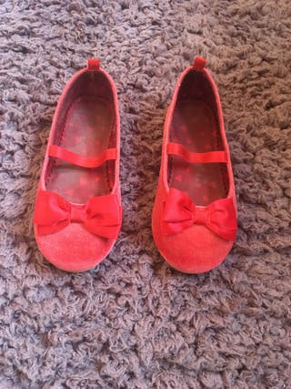 Zapatos manoletinas niña Navidad