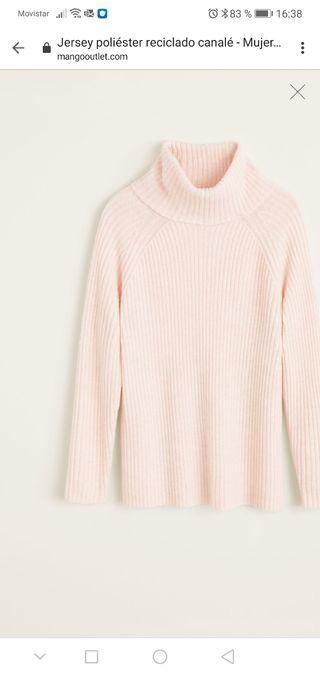 Jersey Rosa cuello alto