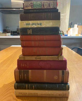 Pack lote 13 libros religiosos y antiguos