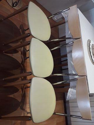 6 asientos polipiel