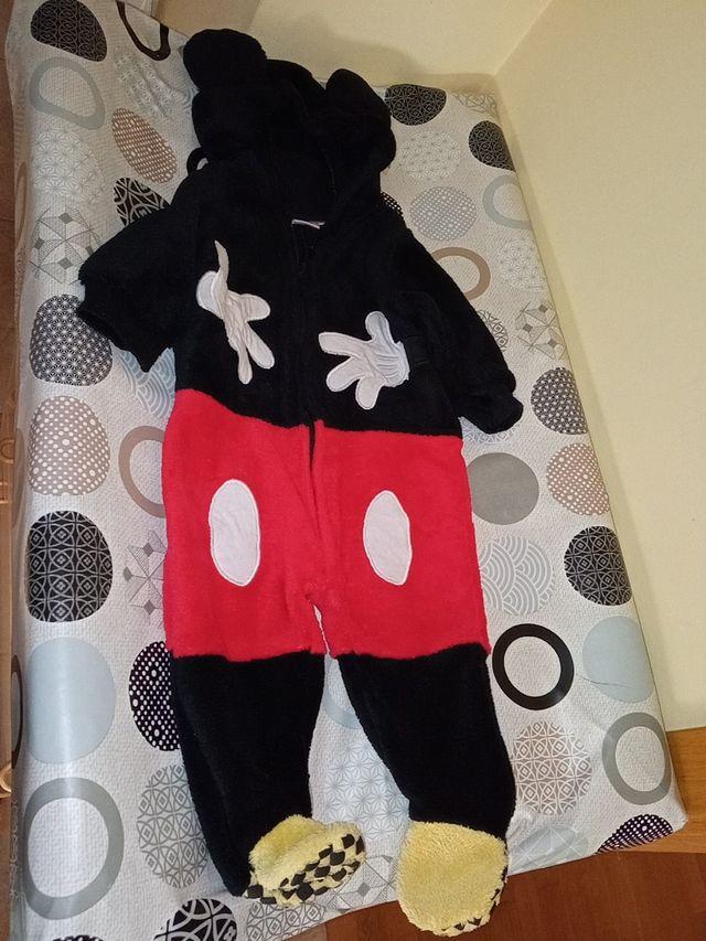 Disfraz Mickey bebé carnaval Halloween 6 a 12 M