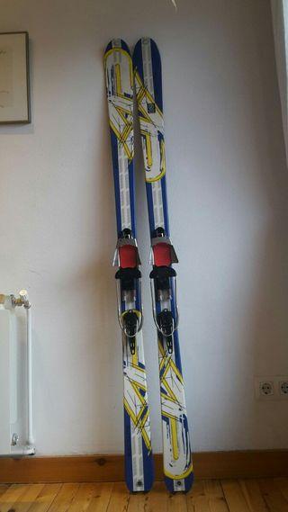 Esquís Telemark K2 Backlite 174 + Axl S