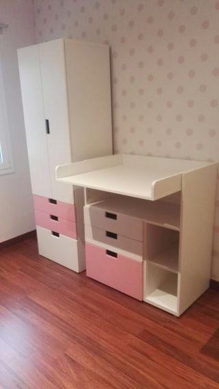 Armario y cambiador niño/bebé IKEA