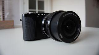 Cámara de fotos Sony Nex 3 N solo cuerpo