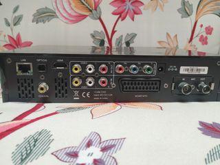 Reproductor grabador multimedia y disco duro 1 Tb