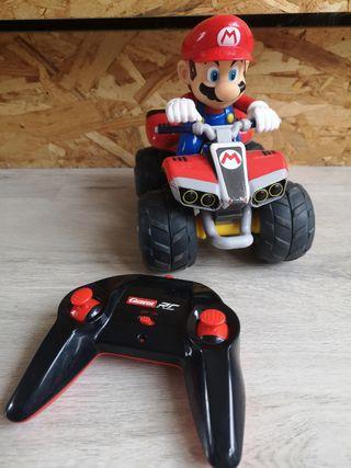 coche teledirigido Mario bros marca carrera