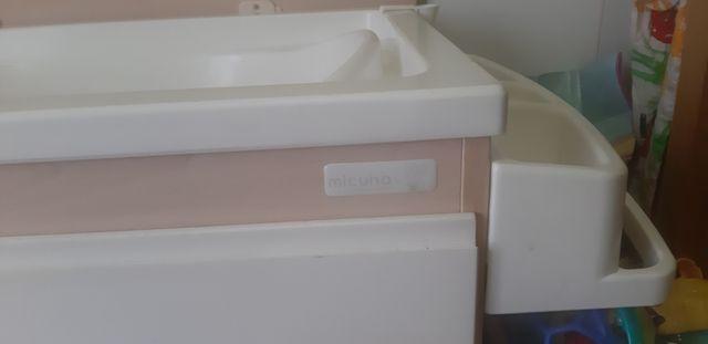 Mueble bañera cambiador Mi cuna