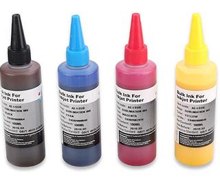 Tinta de sublimación de 4 botellas para impresoras