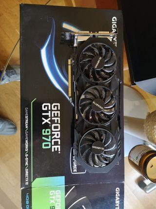 Tarjeta gráfica Gigabyte Geforce GTX 970 Windforce