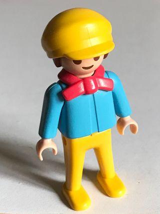 Playmobil niño de los zancos verdes