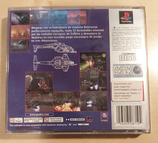 G-Police Playstation