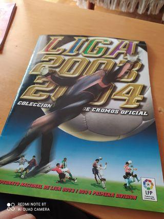 album cromos liga 2003/2004