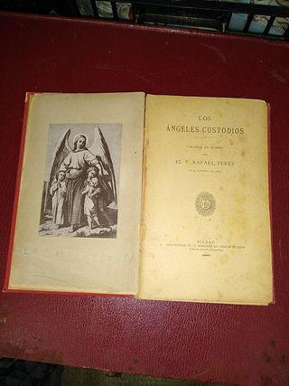 libro antiguo religioso de 1889