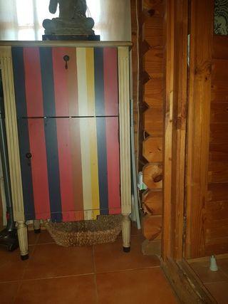 mueble bar rustico vintage