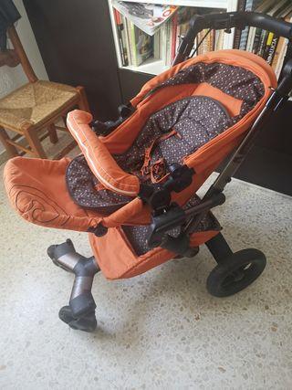 Carrito Concord Rusty Orange
